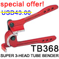 SUPER 3-HEAD TUBE BENDER TB368