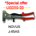 NOVUS Special Screw-Fitting Riveter J65AS