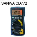 SANWA Digital Multimeters/Standard type CD772