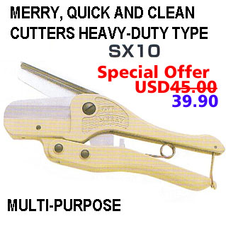 MERRY MULTI-PURPOSE QUICK, CLEAN CUTTERS HEAVY-DUTY TYPE SX10